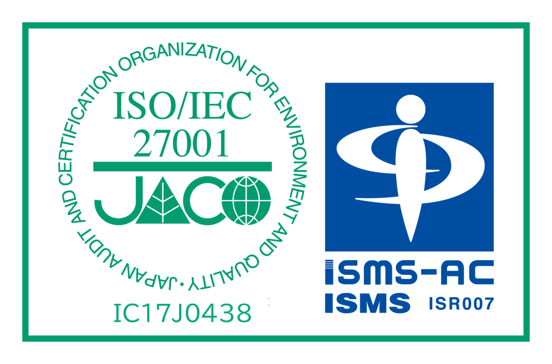 ISO27001(ISMS)認証